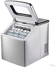 Machine à glaçons, Comptoir de machine à glaçons en acier inoxydable, Cycle de glace 13-25 minutes, 40 kg (18 kg) / 24h, p...