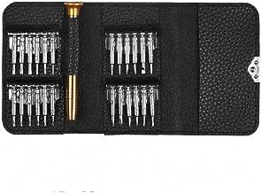 25 في 1 غطاء حماية جلدي وطقم مفك براغي توركس وأدوات إصلاح الموبايل وتول كيت وأدوات يدوية متعددة المهام