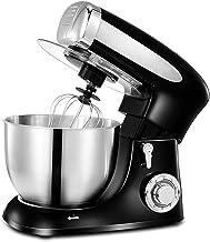 Batteur Sur Socle Domestique, Mousseur À Lait Cuisine Électrique Mélange Planétaire Pour Machine À Pâte Farine Gâteau, Rob...