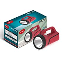 Pigeon by Stovekraft Rigel Plus Led Emergency Rechargeable Lamp with 2000 mAH Battery and 14 Hours Backup (Red)