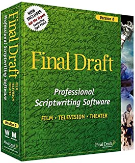 Best final draft 6 software Reviews