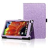 ACdream RCA Voyager 7 Case, Folio Premium PU Leather Cover Case for RCA Voyager 7' 16GB / 8 GB Tablet Android 6.0 (Marshmallow), Purple Star of Paris