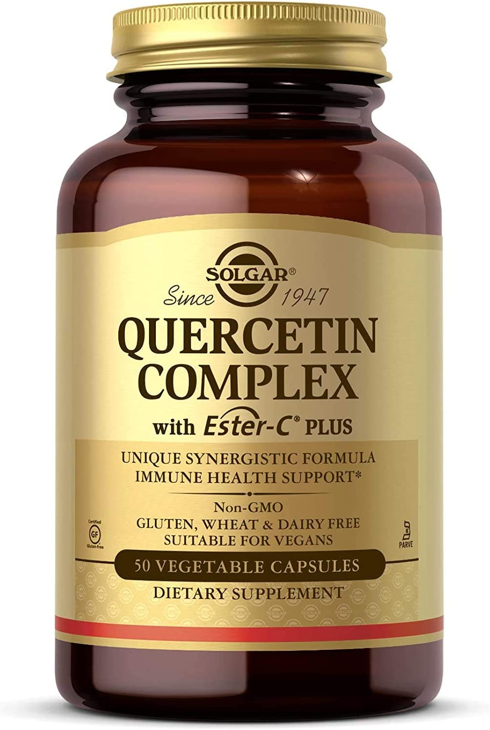 1 year warranty Solgar – Quercetin Complex with A surprise price is realized Plus Ester-C 50 Vegetable