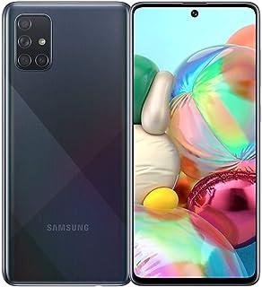Samsung Galaxy A71 (SM-A715F/DS) 4G版 Dual SIM 128GB+8GB RAM SIMフリー(Prism Crush Black/ブラック)