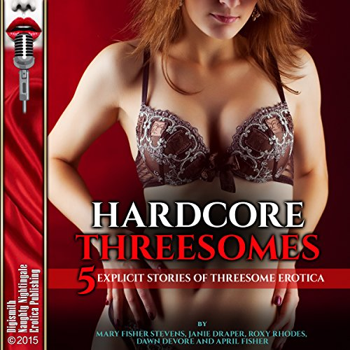 Hardcore Threesomes audiobook cover art