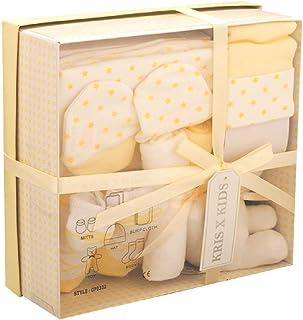 Set de regalo de 4 prendas, de 0 a 3 meses- amarillo Stars