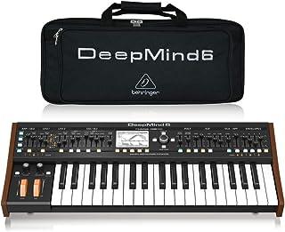 Behringer Deepmind 6 Sintetizador de 6 voces, analógico, polifónico, para estudio con bolsa