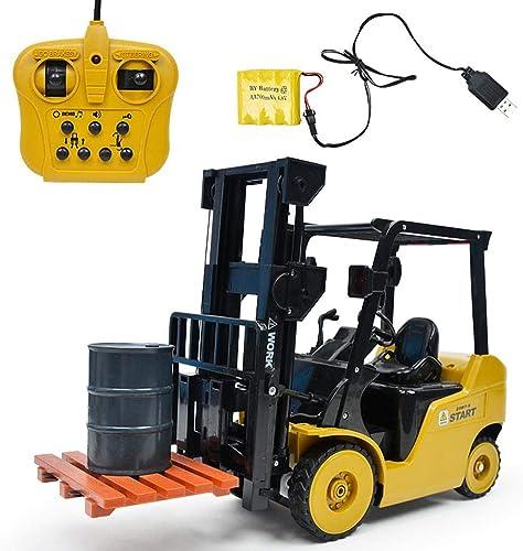 Ferngesteuertes RC Auto Elektrisch Simuliertes Gabelstapler Spielzeug Batteriebetriebene Fernbedienung 11 Kanal 1  8 Spielzeug Fahrzeug Für Kinder By istary