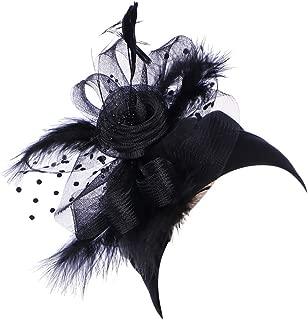 Allywit Womens Lace Flower Turban Hat Sequins Hair Loss Beanie Head Wrap Caps