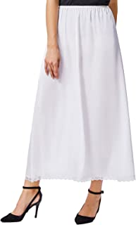 Half Slips Anti Static for Women Underskirt with Lace 36