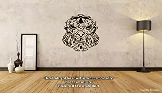 Mexica Aztec Maya Wall Decals Aztec Mask Stickers Decorative Design Ideas For Your Home or Office Walls Removable Vinyl Murals EC-0744