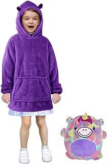 ABALAGU Cute Warm Pets Hoodie, Kids Wearable Unique Puppy Animal Comfortable Boy Girl Sweatshirt
