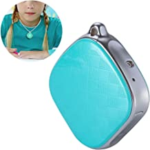 Bewinner GPS Necklace Tracker for Kids,GPS + LBS + Wi-Fi Positioning,GPS Intercom Tracker Support SOS Call/History Track/Electronic Fence/Multi-Platform Monitoring