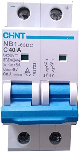 CHINT Solar 40 A 500V 2P DC MCB…