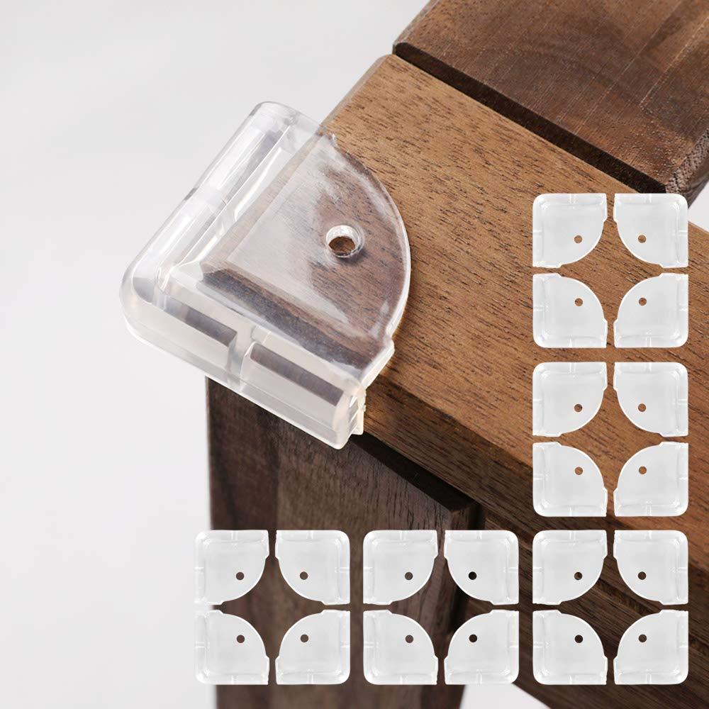 nordico Namo Shock Absorber Furniture Transparent Corner Guard 20P (4P x 5set)