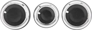Acessórios para carro, botão do interruptor de controle do ar condicionado preto elegante forte e durável para Bora e IV