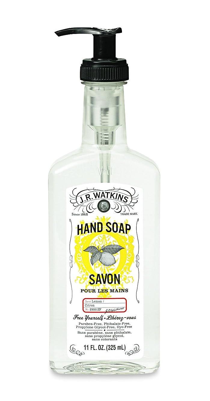 研磨剤感じ石油J.R.Watkins(ジェイ?アール?ワトキンス) ハンドソープ レモン