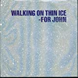 Yoko Ono (John Lennon BEATLES) Walking On Thin Ice / It Happened Portugal 45 W/PS + Lyric Sheet