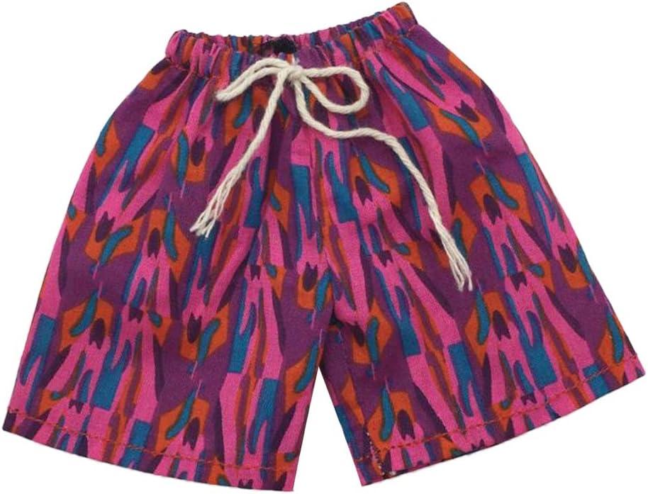 B perfeclan Pantalones Cortos de La Playa de Los Hombres de La Escala 1//6 para 12inch Masculina Accesorio de La