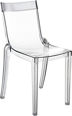 Kartell Victoria Ghost silla Fireproof, Crystal, 4 Unidades ...