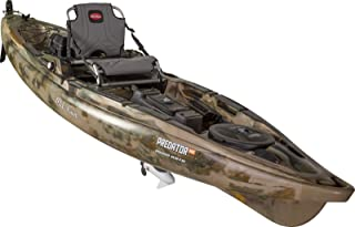 Old Town Predator MK Fishing Kayak with Motor and Rudder, 13 Feet 2 Inches