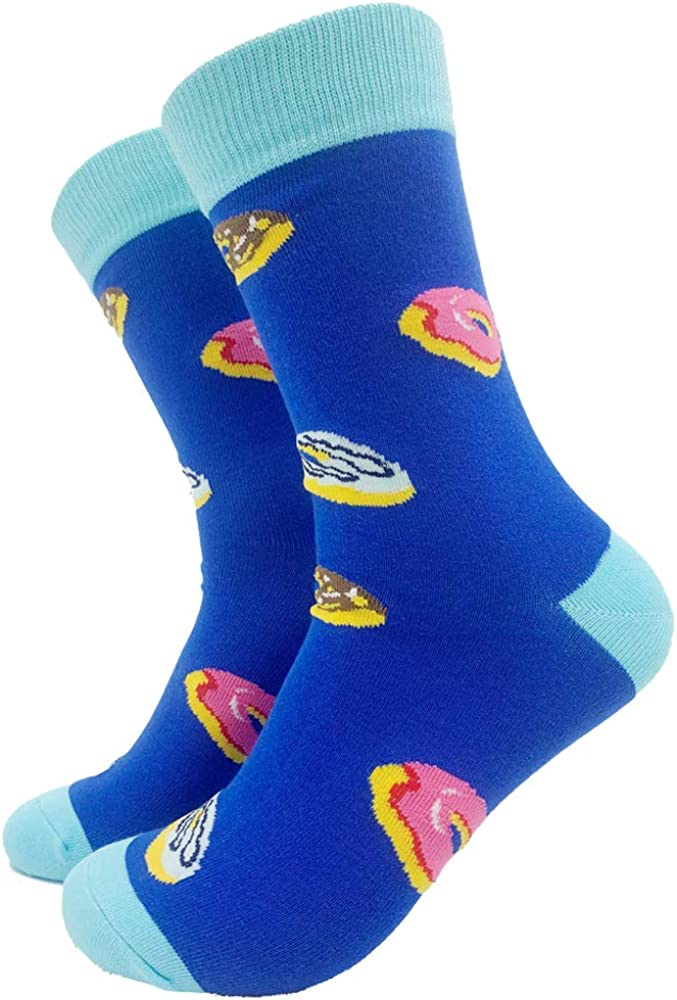 YEXIPO Novelty Crazy Food Fruits Crew Socks Cute Funny Pineapple Avocado Taco Cotton Socks for Men Women