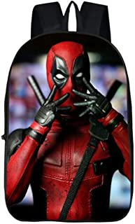 Deadpool Super Hero Movie Civil War School Bags Men Rucksack Mochila Bag Backpacks