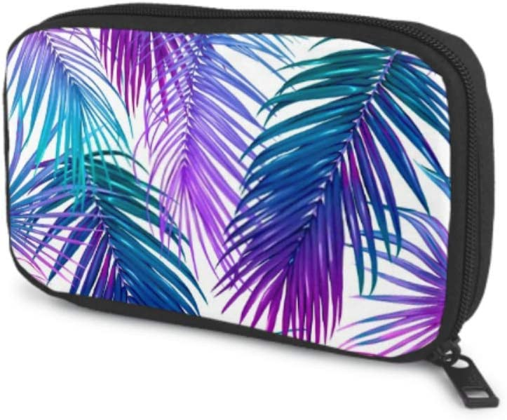 Electronics Accessories Organizer Bag Regular dealer Leaves Pat Seamless Tropic Sales results No. 1