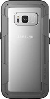 Pelican Voyager Samsung Galaxy S8+ Case - Clear/Grey