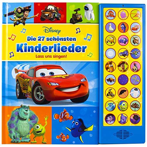 Disney - Die schönsten Kinderlieder - lass uns singen!, 27 Kinder- und Gutenachtlieder zum Mitsingen - mit Notensatz