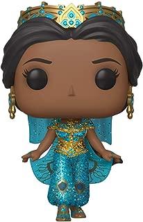 Pop Movies: Aladdin - Diamond Glitter Princess Jasmine Figure, Multicolor