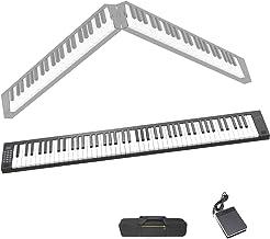 Veetop 88 Keys Foldable Electric Piano Keyboard Portable Dig