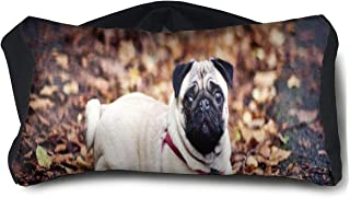 Eye Pillow Pug Dog Fantastic Eye Bag Cover Womens Portable Blindfold Sleeping Protection
