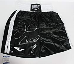 Floyd Mayweather Jr Signed Autographed Everlast Trunks Beckett Coa #i69566 - Beckett Authentication - Autographed Boxing Robes and Trunks