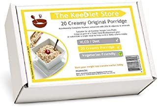 20 Creamy Original Porridge Meal Replacement VLCD Diet Meals by KeeDietA Estimated Price : £ 25,99