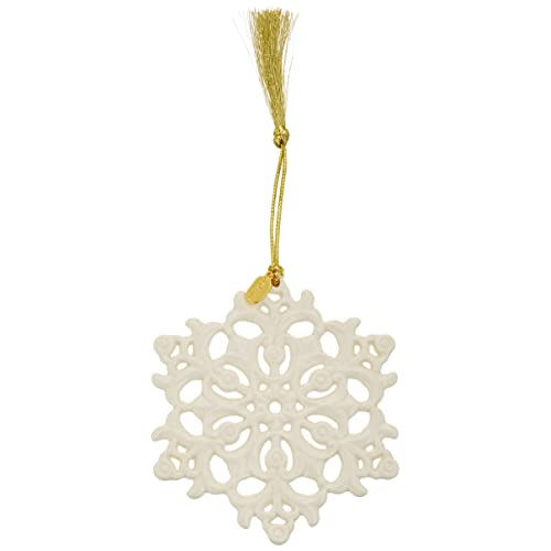 Lenox 2018 Snow Fantasies Snowflake Ornament - Lenox Christmas Ornaments: Amazon.com