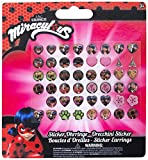 Joy Toy 65984 Figuren & Charactere Miraculous Stickerohrringe auf backercard 13x0,2x14 cm, girls