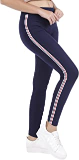 TRASA Women's and Girl's Cotton Lycra Skinny Fit Yoga Pant Trackpant - Sizes:- L, XL, 2XL, 3XL