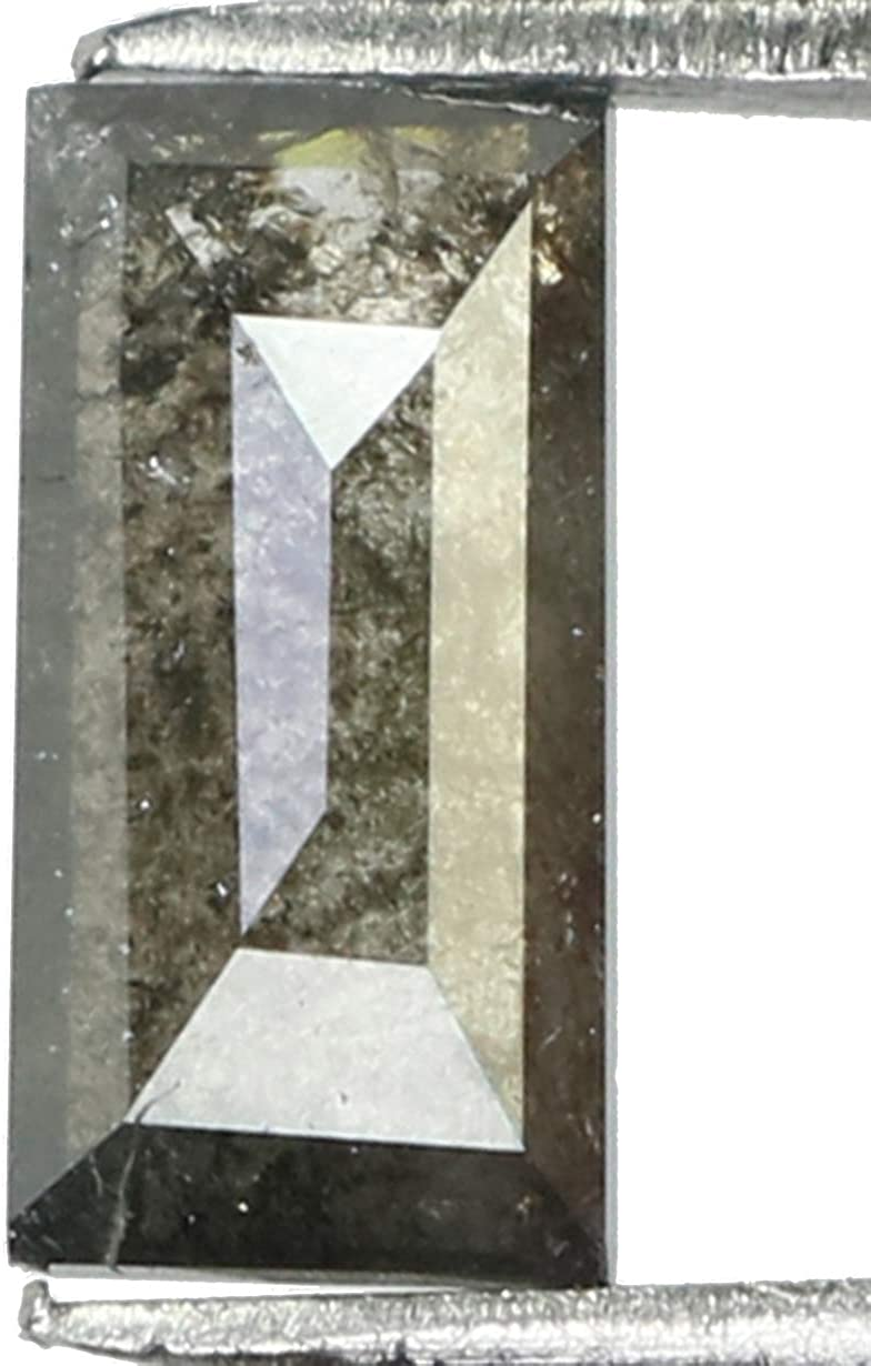 0.69 Ct Natural Loose Diamond Baguette and Limited Special Fees free!! Price Grey Black Peppe Salt