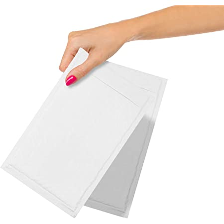"""28979 CW56639 Details about  /Staples White Kraft Bubble Mailer 9-1//2/"""" x 14-1//2/"""" #4 100//Pack"""