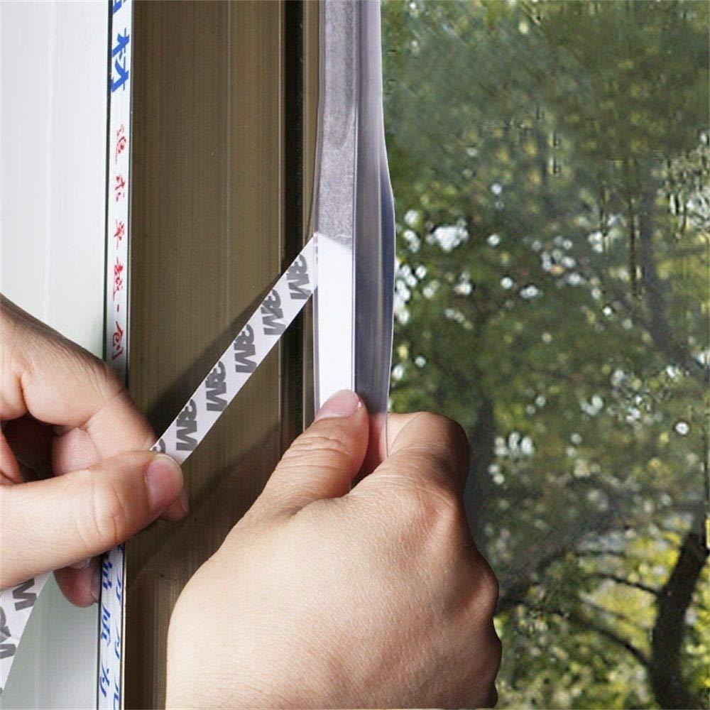 ToDIDAF - Tira de sellado de silicona transparente resistente al ...