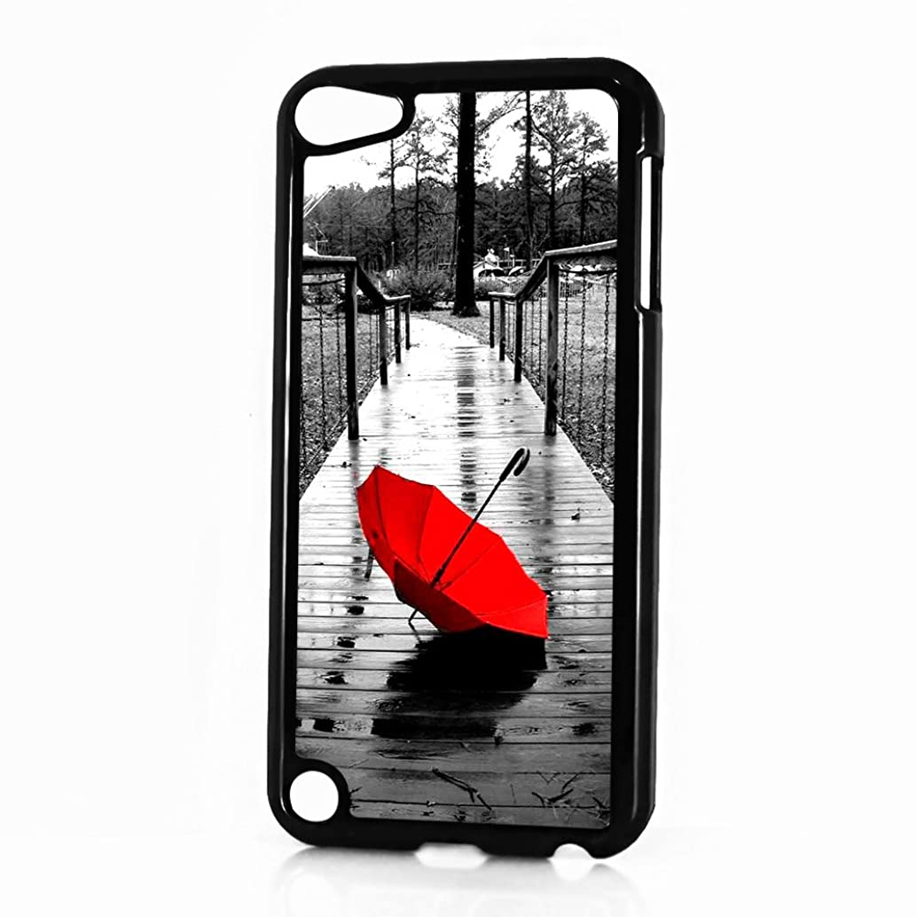( For iTouch 5 iPod Touch 5 ) Phone Case Back Cover - HOT10065 Red Umbrella