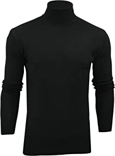 Xact Mens Jumper Roll Neck - Polo Neck Jumper Long Sleeved