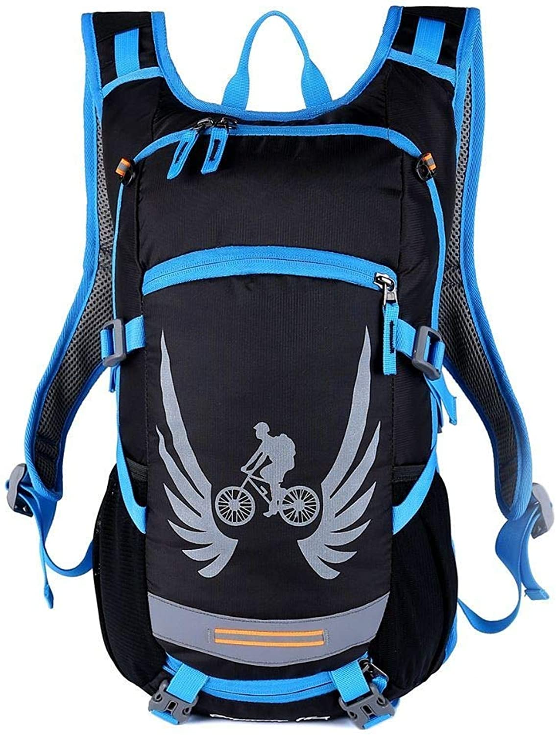 DYR Outdoor Backpack Men and Women Riding Bag Sports Bag MultiFunction Water Bag Hiking OffRoad Bag Can Be Wholesale, bluee