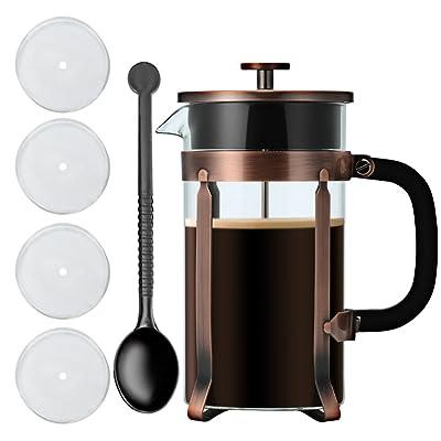 NANAN 8-Cup French Press Coffee Maker, 34 Onze,...