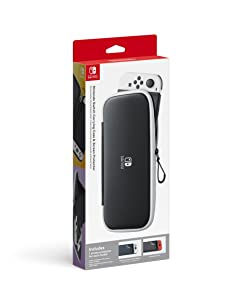 Nintendo Switch Carrying Case & Screen Protector - Switch