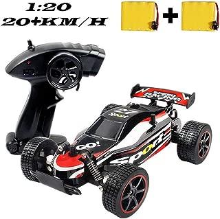 SZJJX RC Cars Control remoto de alta velocidad Coche 1:20 2.