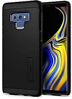 【Spigen】 スマホケース Galaxy Note9 ケース [ SC-01L SCV40 ] 対応 米軍MIL規格取得 TPU 耐衝撃 スタンド機能 ワイヤレス充電対応 タフ・アーマー 599CS24575 (ブラック)