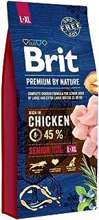Brit Premium by Nature Senior L+XL Apple Chicken Corn 15 kg