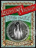 Lunatic Asylum – Viktorianisches Poster – Vintage Stil